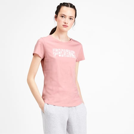 Women's Tee, Bridal Rose, small-IND