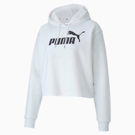 PUMA Sweater »Elevated Essentials Damen Kurzer Hoodie