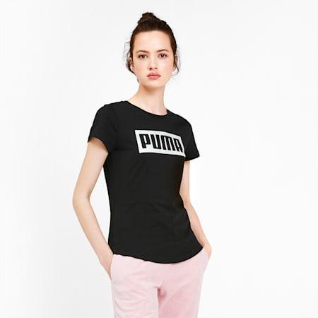 Graphic Logo Women's Tee, Puma Black, small