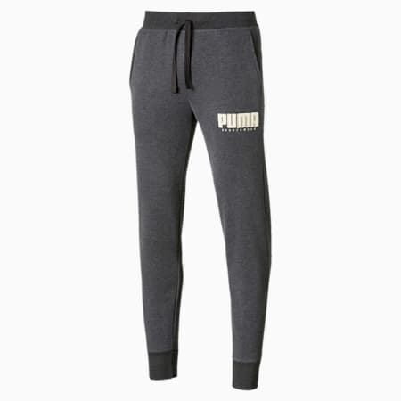 Pantalones  de polar Athletics para hombre, Dark Gray Heather, pequeño