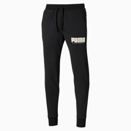 Athletics Men's Fleece Pants, Puma Black, small