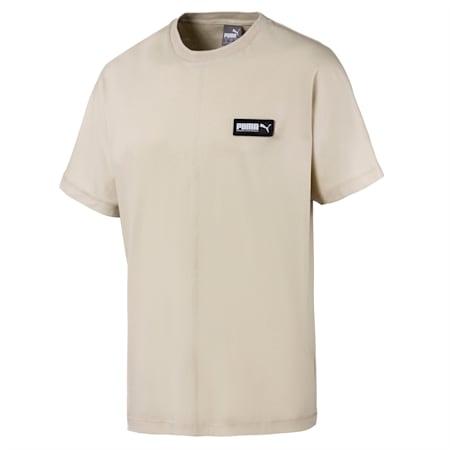 Fusion T-shirt voor heren, Overcast, small