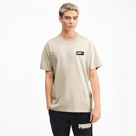 Fusion Men's Crewneck T-Shirt, Overcast, small-IND