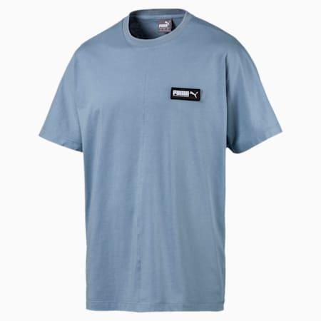Fusion T-shirt voor heren, Faded Denim, small