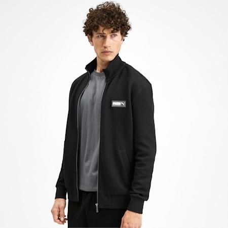 Fusion Men's Jacket, Puma Black, small-IND