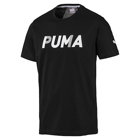 Modern Sports Advanced dryCELL Men's T-Shirt, Puma Black, small-IND