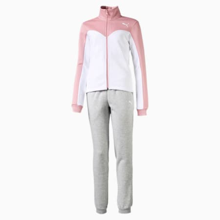 Girls' Track Suit, Bridal Rose, small