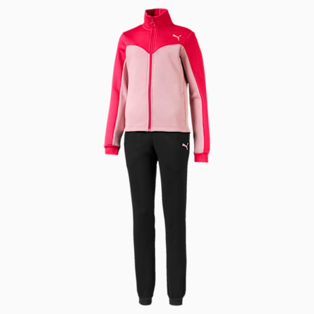 Girls' Track Suit, Nrgy Rose, small