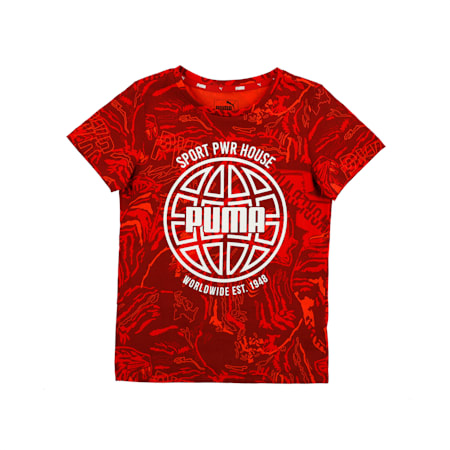 Alpha Boys' Tee, High Risk Red, small-IND