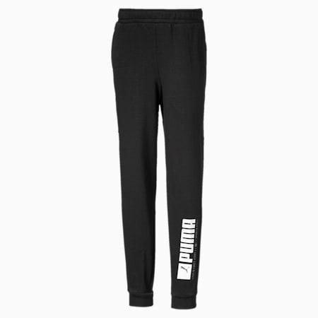 Active Sports Boys' Sweatpants, Puma Black, small-SEA