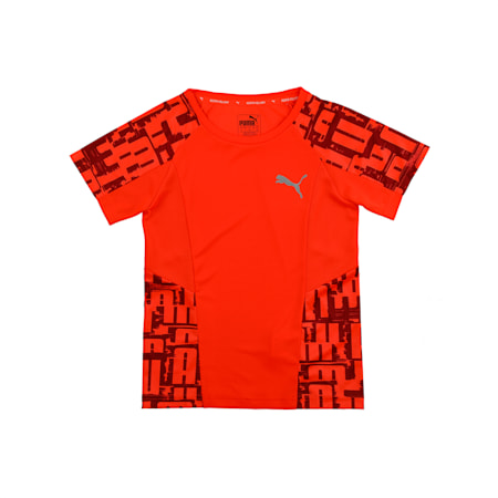 Active Sports Boys' Tee, Nrgy Red, small-IND