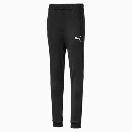 Active Sports Poly Boys' Sweatpants, Puma Black, small-IND