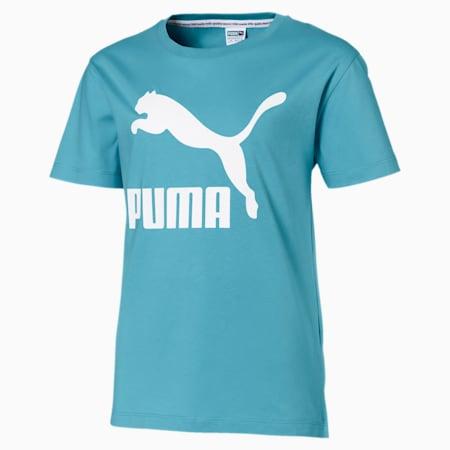 Classics t-shirts til piger, Milky Blue, small