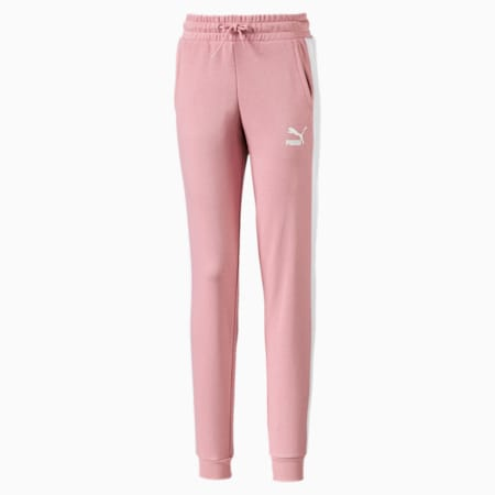 Classics T7 Knitted Girls' Sweatpants, Bridal Rose, small-IND