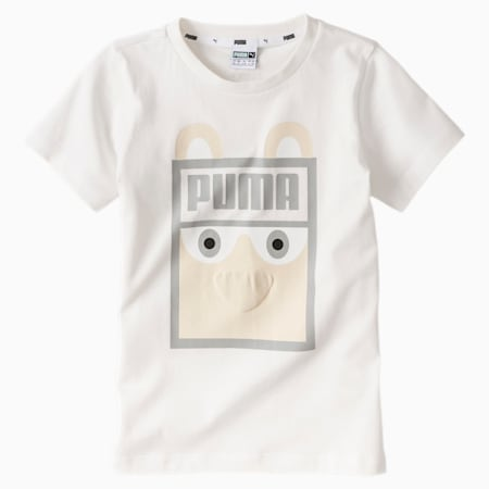 Monster Infant + Toddler Tee, Whisper White, small