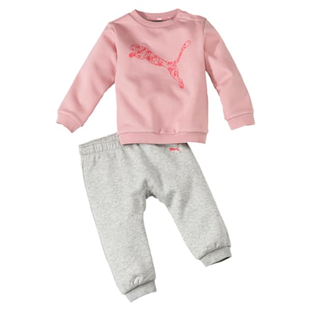 Minicats Babies' Jogger Set, Bridal Rose, small-IND