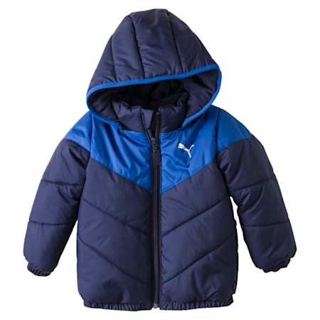 Minicats Padded Infant Jacket, Peacoat, small-IND