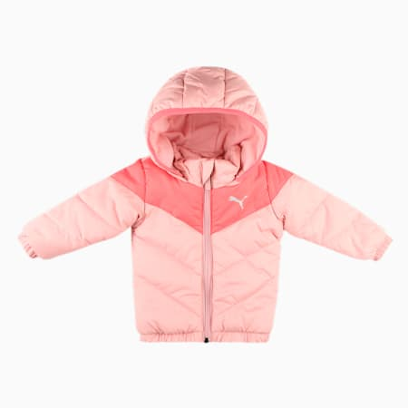 Minicats Padded Infant Jacket, Bridal Rose, small-IND