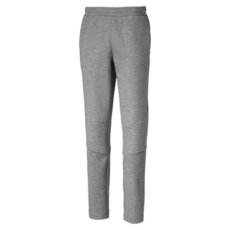 Evostripe Boys' Sweatpants, Medium Gray Heather, small-IND
