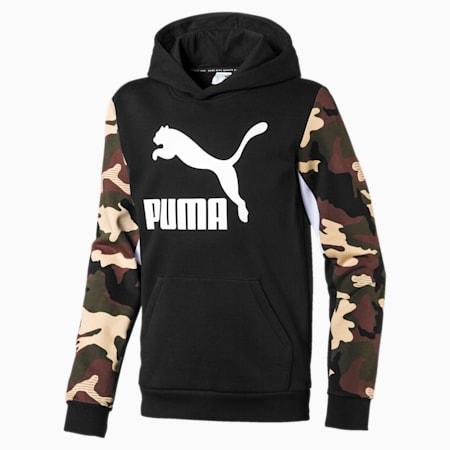 Classics Boys' Hoodie, Puma Black, small