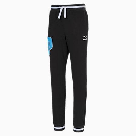 Sesame Street Knitted Boys' Sweat Pants, Puma Black, small-SEA