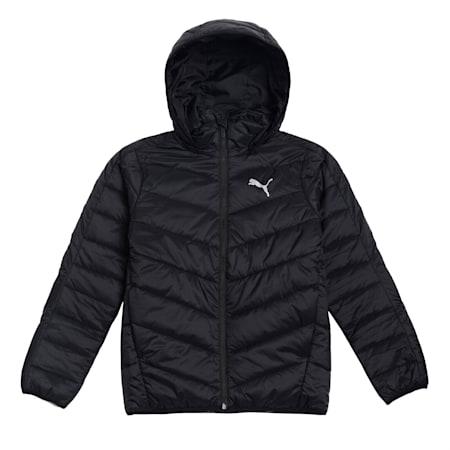 Active Boys' Jacket, Puma Black, small-IND