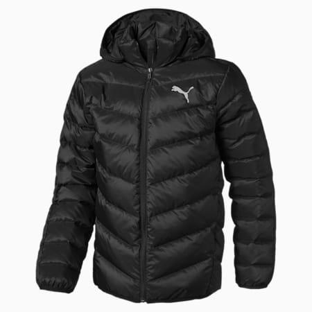 Active Boys' Jacket JR, Puma Black, small