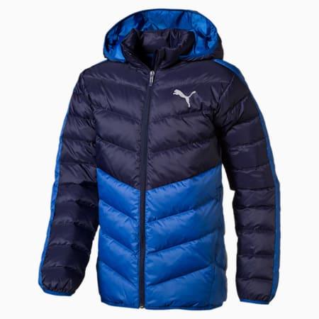 Active Boys' Jacket, Galaxy Blue-Peacoat, small-IND