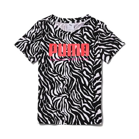 Camiseta AOP PUMA x SOPHIA WEBSTER para niña, Puma White-AOP, pequeño