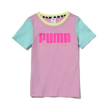 PUMA x SOPHIA WEBSTER Girls' Tee, Pastel Lavender, small