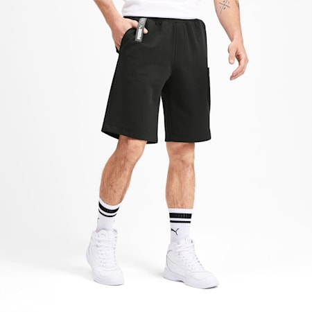 NU-TILITY Men's Shorts, Puma Black, small-SEA