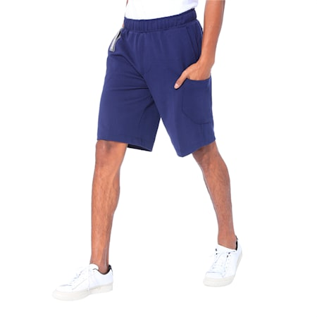 NU-TILITY Men's Shorts, Peacoat, small-IND