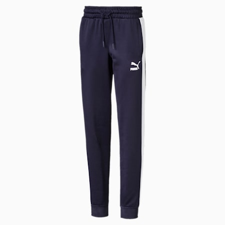 Iconic T7 Boys' Track Pants, Peacoat, small