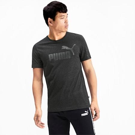 Amplified Men's Big Logo Tee, Dark Gray Heather, small