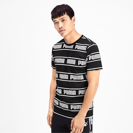 Amplified Men's Tee, Puma Black, small-IND