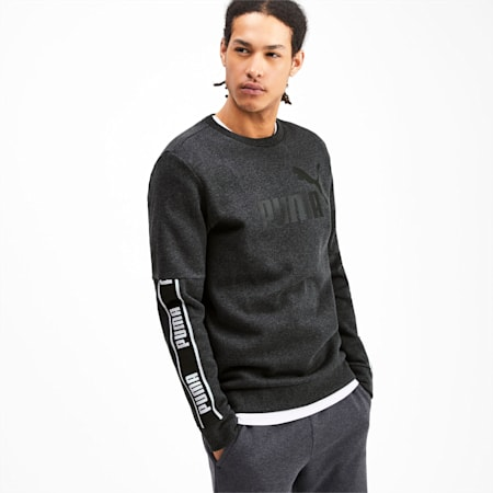 Sweat Amplified pour homme, Dark Gray Heather, small
