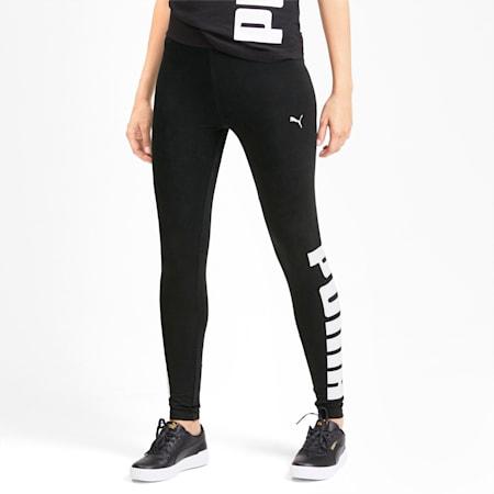 Rebel Women's Leggings, Puma Black, small