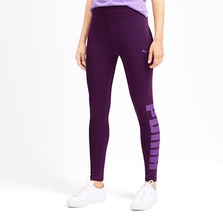 Rebel Women's Leggings, Plum Purple, small