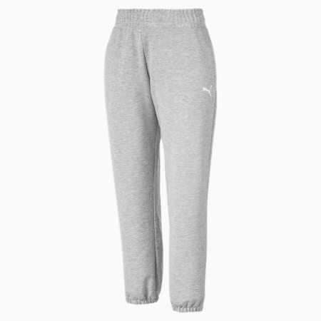 Modern Sports Women's Track Pants, Light Gray Heather, small