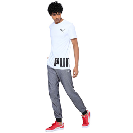 Sized Up Shift Men's Tee, Puma White, small-IND