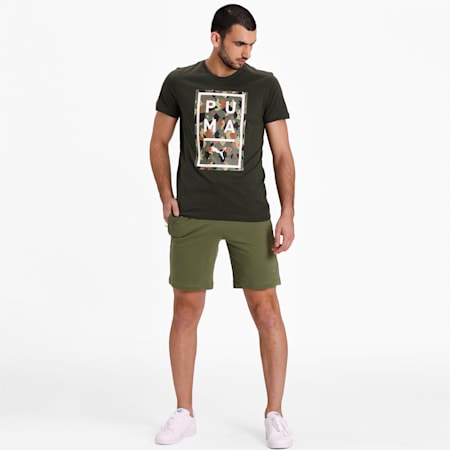 Above The Bar Camo Tee, Forest Night, small-IND