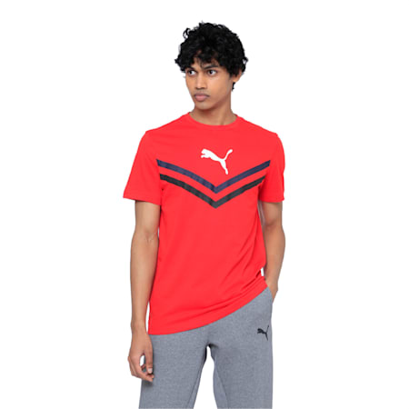 Puma Tour Tee, High Risk Red, small-IND