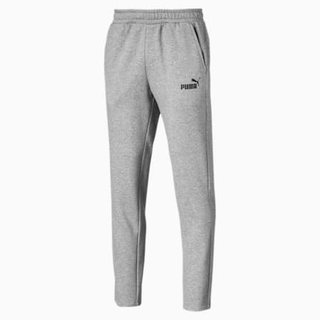Elevated Essentials Men's Tapered Pants, Medium Gray Heather, small