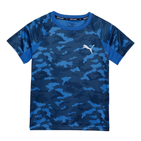 Active Sports Poly T-Shirt, Palace Blue, small-IND