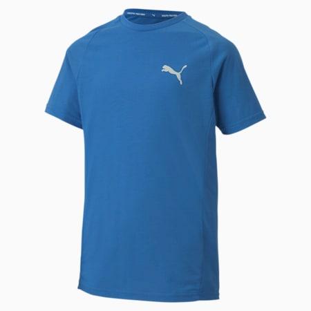 Evostripe T-Shirt, Palace Blue, small-IND