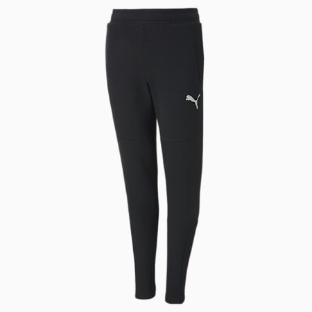 Evostripe Boys' Sweatpants, Puma Black, small