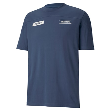 NU-TILITY Relaxed T-shirt, Dark Denim, small-IND