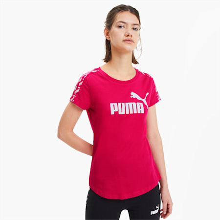 Amplified Women's Tee, BRIGHT ROSE, small-SEA