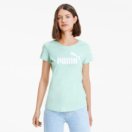 Amplified Damen T-Shirt, Mist Green, small