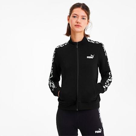 Amplified Women's Track Jacket, Puma Black, small